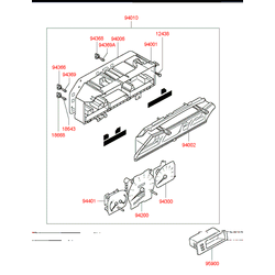 Датчик скорости (Hyundai-KIA) 96420M3000