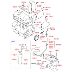 Датчик температуры воздуха (Hyundai-KIA) 3922027450