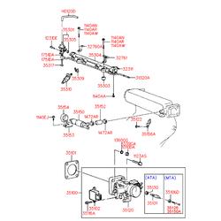 Привод (Hyundai-KIA) 3515033001