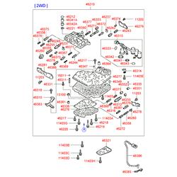 Фильтр акпп (Hyundai-KIA) 4632138010