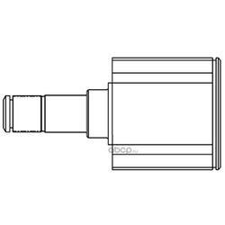 Шарнирный комплект, приводной вал (GSP) 624001
