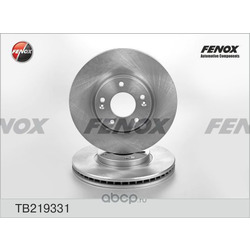Тормозной диск задний [300x28] 5 отверстий (Fenox) TB219331