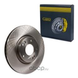 Диск тормозной передний (GANZ) GIJ10006