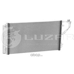 Радиатор кондиционера (конденсер) (Luzar) LRAC08R0