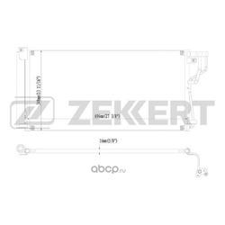Конденсатор, кондиционер (Zekkert) MK3098