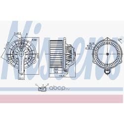 Вентилятор салона (Nissens) 87335