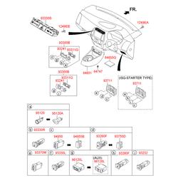 Внутренняя антенна противоугонной системы (Hyundai-KIA) 954203K210
