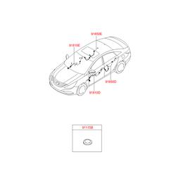 Проводка кузова (Hyundai-KIA) 916003S130