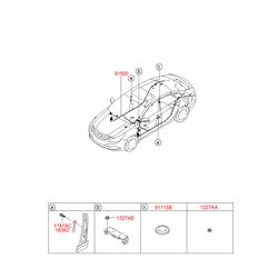 Проводка кузова (Hyundai-KIA) 915233S050
