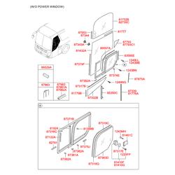 Винт-саморез d=4мм (Hyundai-KIA) 1249304203