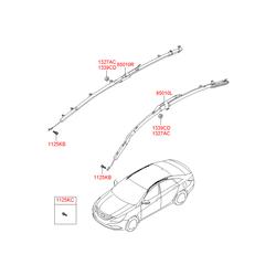 Пневмоподушка безопасности с системой надувания (Hyundai-KIA) 850103S000