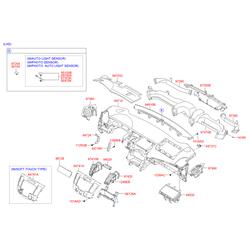 Подушка безопасности (Hyundai-KIA) 845303K100