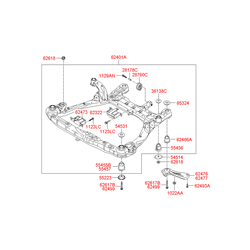 Втулка резиновая (Hyundai-KIA) 624993K000
