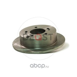 Диск тормозной задний (DEQST) 10BDIR0030000