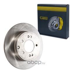 Диск тормозной задний (GANZ) GIJ10100
