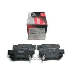 Колодки тормозные дисковые комплект (BAPCO) BP0539