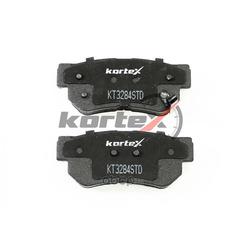 Колодки тормозные задние (комплект) (KORTEX) KT3284STD