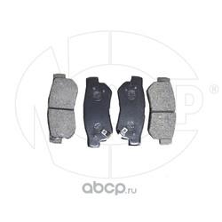 Колодки тормозные задние (NSP) NSP02583022HA00