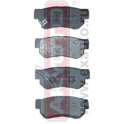 Колодки тормозные дисковые задние (AKYOTO) AKD1272