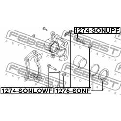 Ремкомплект дискового тормоза (Febest) 1275SONF