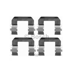 Комплектующие, колодки дискового тормоза (BOSCH) 1987474404