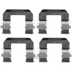 Комплектующие, колодки дискового тормоза (Hella) 8DZ355203091