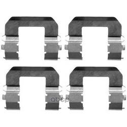 Комплектующие, колодки дискового тормоза (Mintex) MBA1617