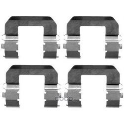 Комплектующие, колодки дискового тормоза (Pagid) K0152