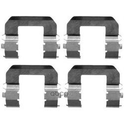 Комплектующие, колодки дискового тормоза (Textar) 82071600
