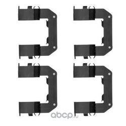 Комплектующие, колодки дискового тормоза (Pagid) K0413