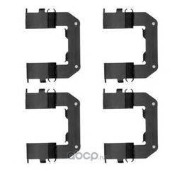 Комплектующие, колодки дискового тормоза (Textar) 82515800