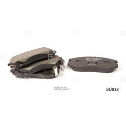 Колодки дисковые (HOLA) BD833
