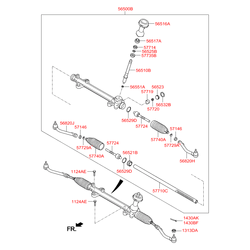 Шариковый подшипник d=32мм (Hyundai-KIA) 565513Q000