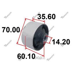 Сайлентблок задний переднего рычага (Tenacity) AAMHY1009