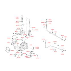 Кнопка рукоятки акпп (Hyundai-KIA) 4672339000LK