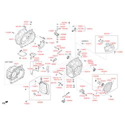 Прокладка крышки блока клапанов кпп (Hyundai-KIA) 452833B010