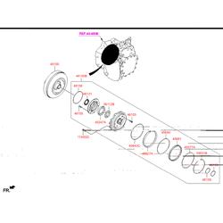 Гидротрансформатор акпп (Hyundai-KIA) 451003B620