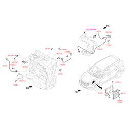 Датчик температуры (Hyundai-KIA) 392203C100