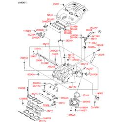 Форсунка топливная (Hyundai-KIA) 353103C000