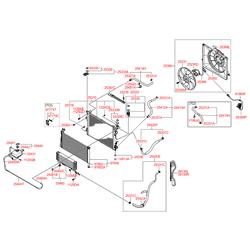 Защита радиатора (Hyundai-KIA) 291353K100