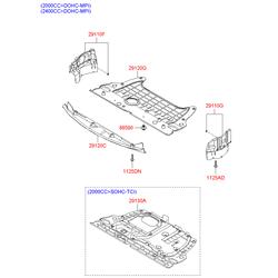 Защита двигателя (Hyundai-KIA) 291203K750