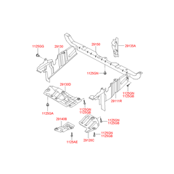 Блок цилиндров (Hyundai-KIA) 2912038800