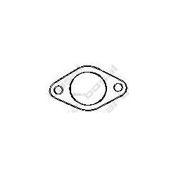Уплотнительное кольцо, труба выхлопного газа (Eco-Autofamily) 256556