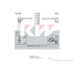 Комплект проводов зажигания (KW) 358236