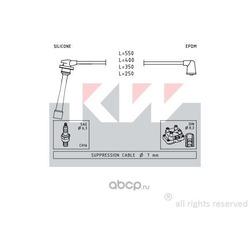 Комплект проводов зажигания (KW) 360385