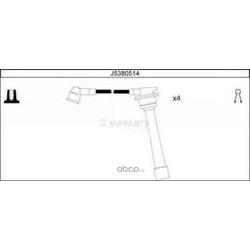Провода высоковольтные (Nipparts) J5380514