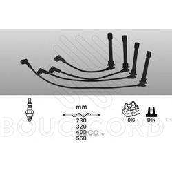 Комплект проводов зажигания (BOUGICORD) 7412