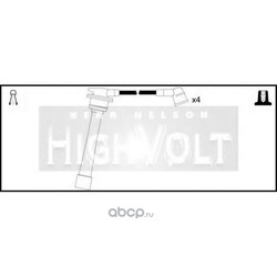 Комплект проводов зажигания (STANDARD) OEF1042