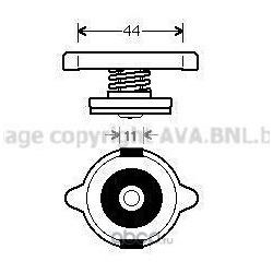 Пробка радиатора (Ava) 980011