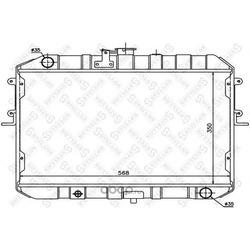 Радиатор (STELLOX) 1025833SX